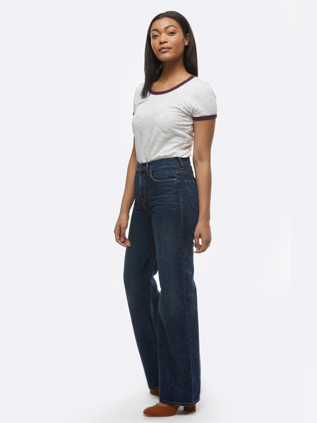 The Wide Leg - Doris Wash Denim