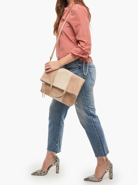 Emnet Foldover Tote FASHIONABLE Leather