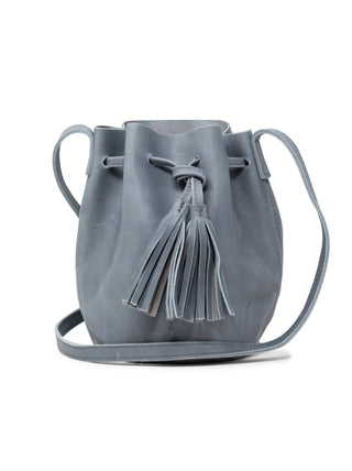 Maria Bucket Bag - Denim Blue