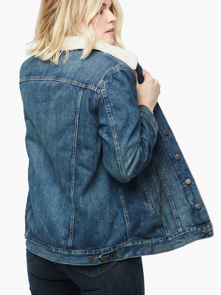 The Andreina Sherpa Jacket FASHIONABLE Denim