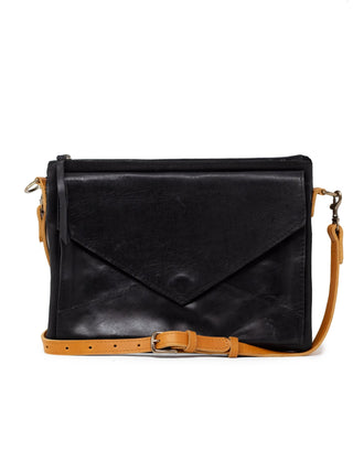 Solome Crossbody - Black/Cognac