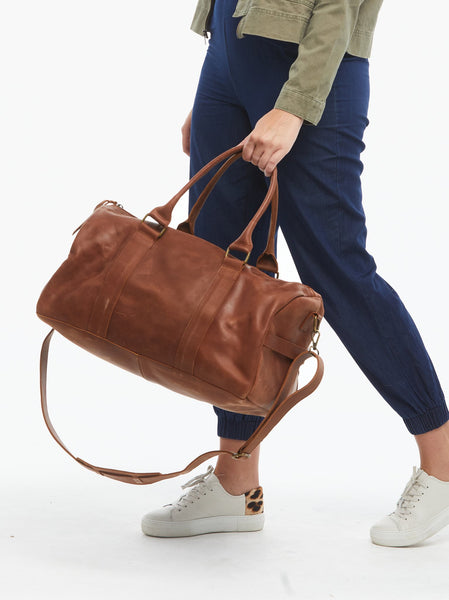 Elsabet Duffle FASHIONABLE Leather