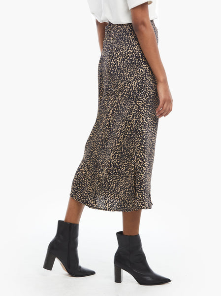 Rene Woven Midi Skirt FASHIONABLE Apparel