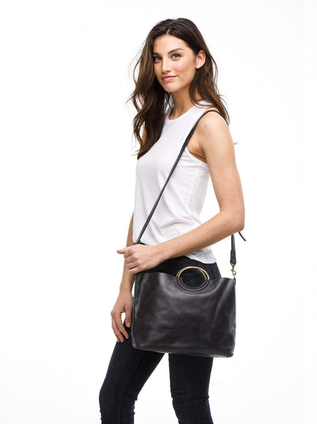 Fozi Handbag FASHIONABLE Leather