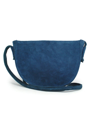 Hana Crossbody - Navy Suede