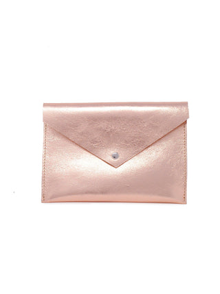Tigist Pouch - Rose Gold Metallic