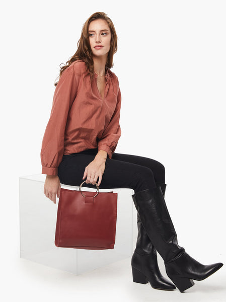 Fozi Tote FASHIONABLE Leather