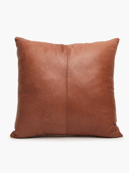 Pushpa Leather Pillow FASHIONABLE