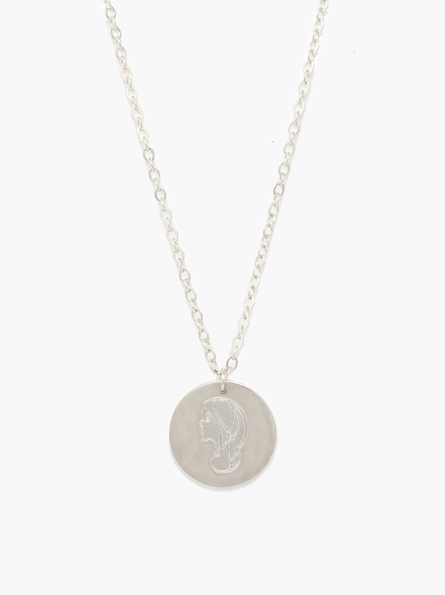 She's Worth More Worth Portrait Heirloom Necklace