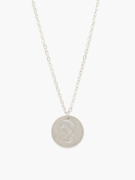 She's Worth More Worth Portrait Heirloom Necklace FASHIONABLE