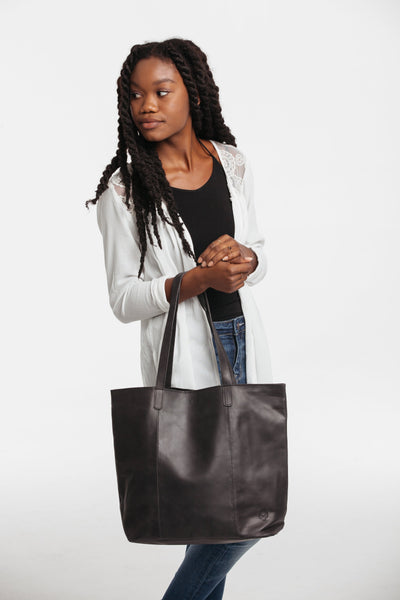 Zemen Leather Tote Leather