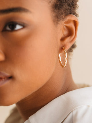 Ivy Hoops FASHIONABLE Earrings