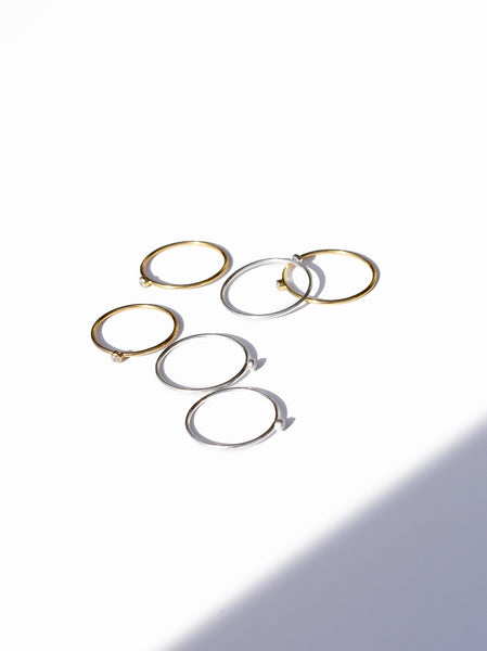 Luz Petite Ring Set FASHIONABLE Rings