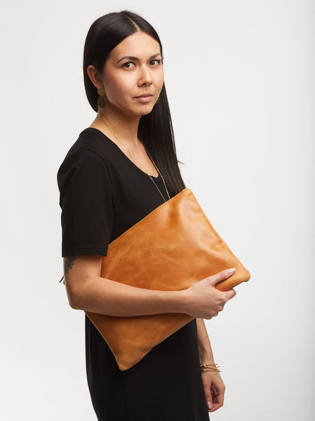 Martha Pouch - Large Leather