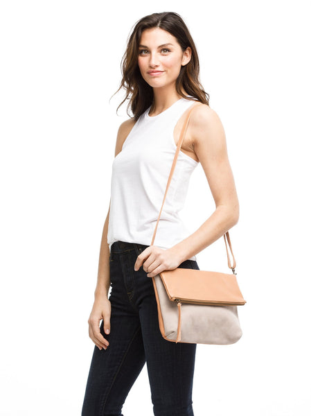 Menbere Foldover Bag FASHIONABLE Leather