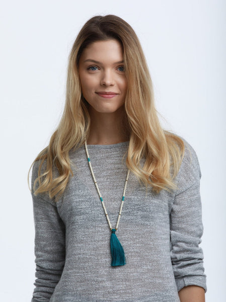 Nomad Tassel Necklace