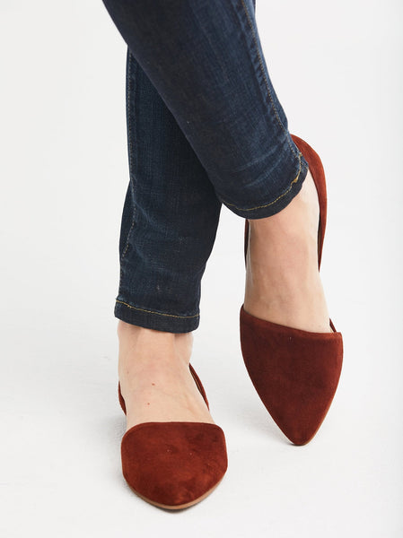 Sarai Pointed Flat Shoes