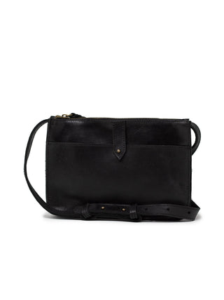 Chaltu Top Zip Crossbody - Black