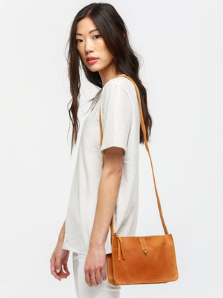 Chaltu Top Zip Crossbody FASHIONABLE Leather