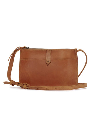 Chaltu Top Zip Crossbody - Chestnut