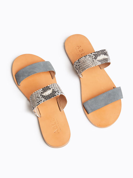 Joselyne Double Strap Sandal FASHIONABLE