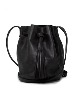 Maria Bucket Bag - Black