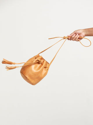 Maria Bucket Bag FASHIONABLE Leather