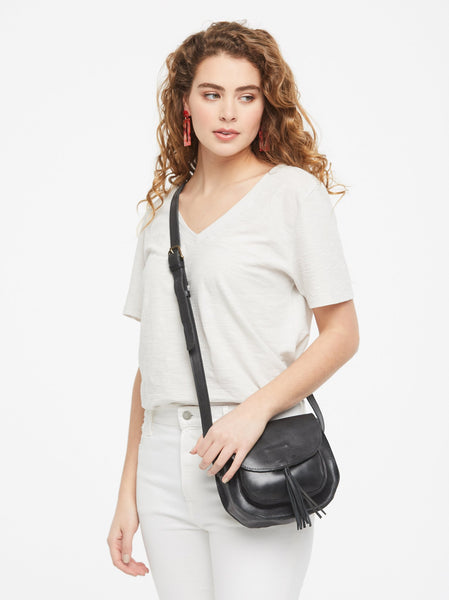Maria Tassel Crossbody FASHIONABLE Leather