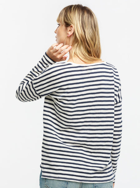 Olga Breton Striped Tee FASHIONABLE Apparel