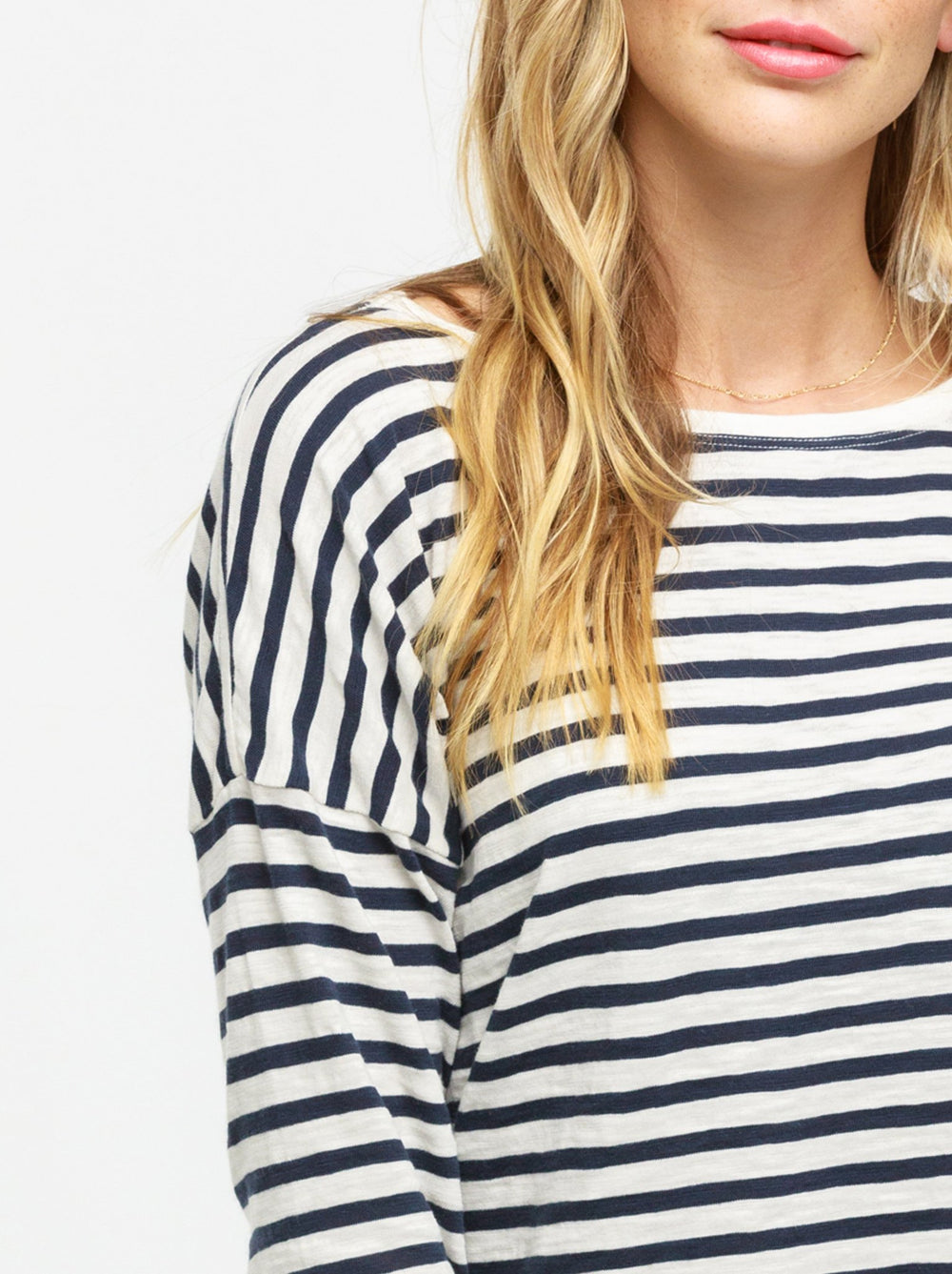 Lifestyle - Ivory/Deep Navy Stripes