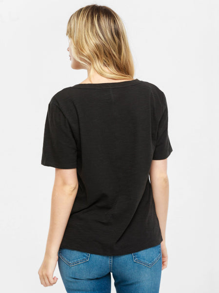 Palomino Relaxed V-Neck Tee FASHIONABLE