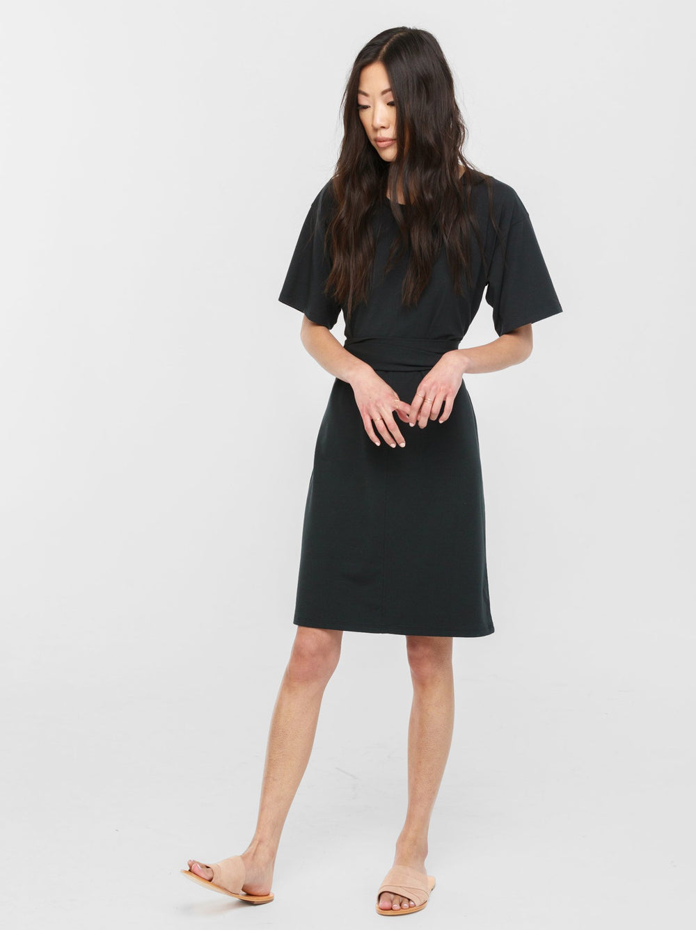 Sara Relaxed T-Shirt Dress