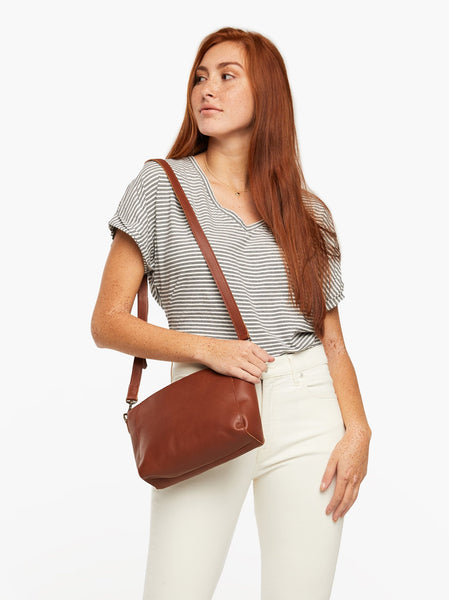 Cecilia Zip Crossbody FASHIONABLE Leather