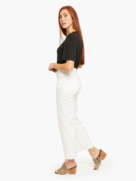 The Clara Wide Leg Crop FASHIONABLE Denim