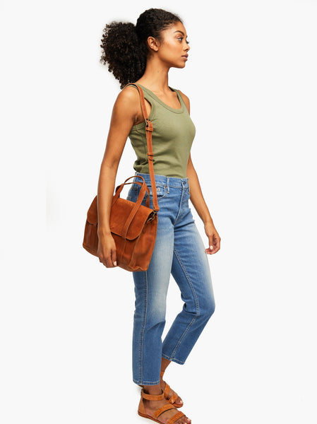 Elsabet Top Handle Crossbody FASHIONABLE Leather
