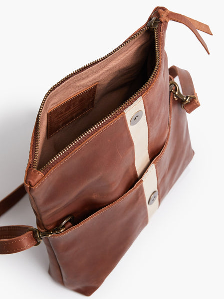 Small Emnet Foldover Crossbody FASHIONABLE Leather