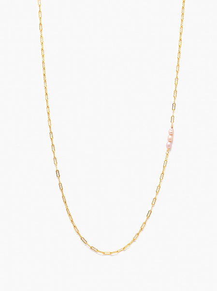 Pearl Station Necklace FASHIONABLE