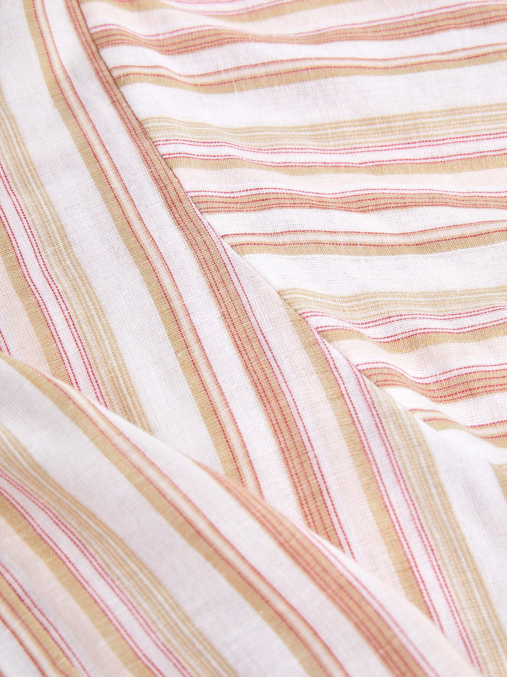 Lifestyle - Coral/Tan Stripe