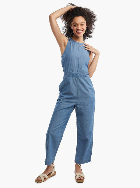 Erin Chambray Jumpsuit FASHIONABLE