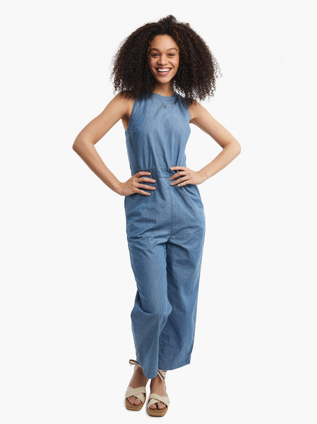 Erin Chambray Jumpsuit FASHIONABLE Denim