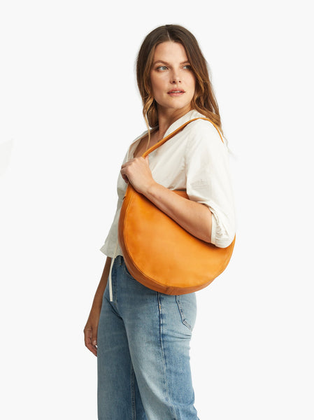 Naomi Topstitch Hobo FASHIONABLE Leather