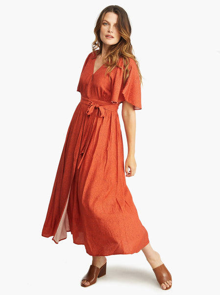 Loretta Wrap Dress FASHIONABLE Apparel