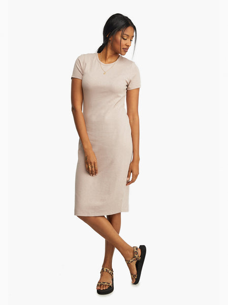 Patti Knit Midi Dress FASHIONABLE Apparel