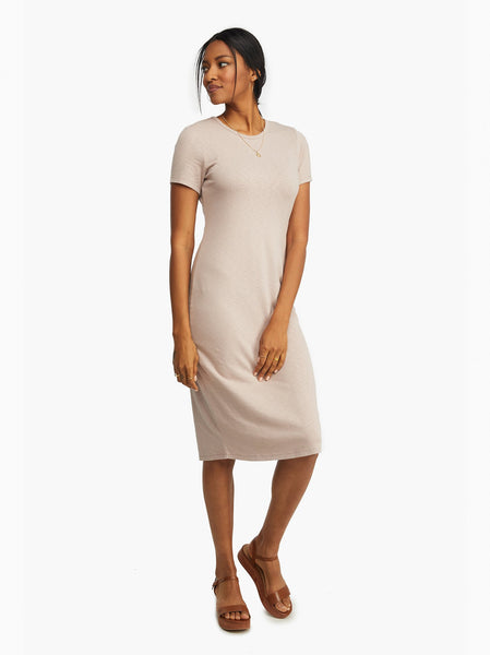 Patti Knit Midi Dress FASHIONABLE