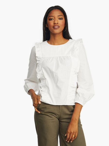 Sarah Ruffle Blouse FASHIONABLE