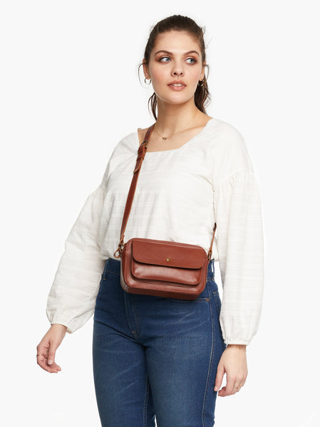 Alma Crossbody FASHIONABLE Leather