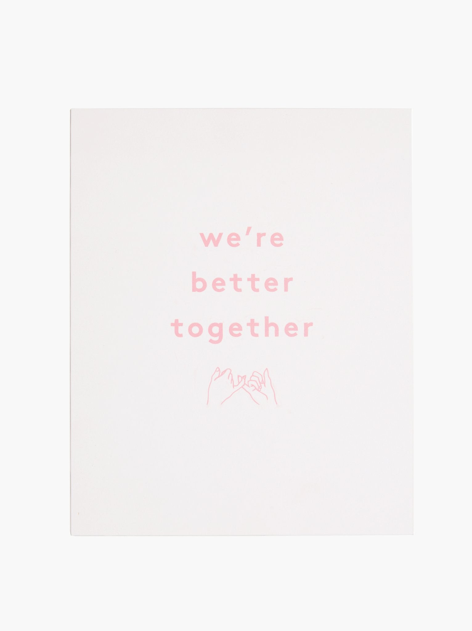 Community Collection Print: Together