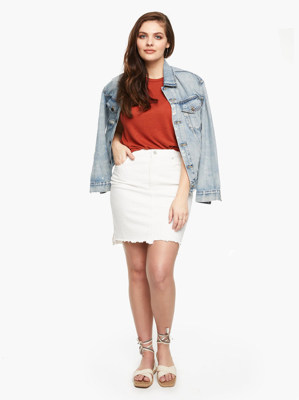 The Erika Denim Skirt