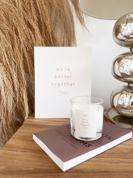 Community Collection Candle: Together FASHIONABLE Home Goods