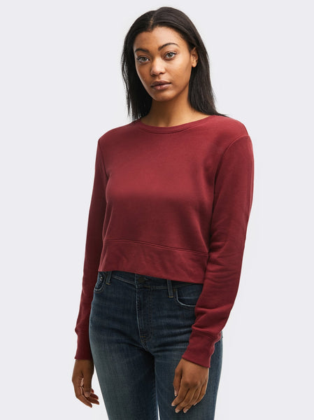 Samantha Cropped Sweatshirt FASHIONABLE